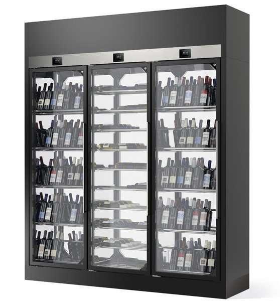vetrina-vino-wine-library-tubi-acciaio